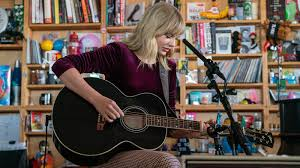 Video: Watch <b>Taylor Swift</b> Perform At NPR's Tiny Desk : NPR