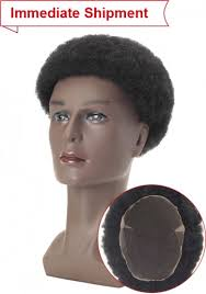 High-Quality African American <b>Hair</b> Replacement System for <b>Men</b> ...