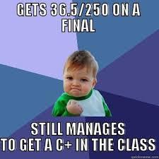 Success Kid on favorable curves - quickmeme via Relatably.com