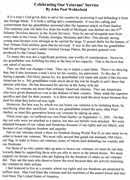 is this a good short essay on veterans day     words  paragraph essay on veterans day