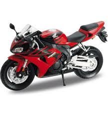 Модель <b>мотоцикла Welly Honda CBR1000RR</b> 1 : 18, артикул ...
