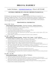 corporate and securities paralegal resume sample eager world annamua