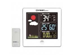 Купить <b>метеостанцию FIRST FA</b>-<b>2460</b>-5-WI (цветной LED-диспл ...