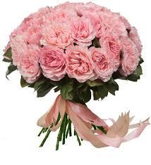 <b>Букет</b>-<b>соло</b> из <b>пионовидных роз</b> Mayras Rose (15,25,35,51,75 или ...