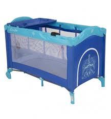 <b>Манеж</b>-кровать <b>Capella Sweet</b> Time Whale/Dinosaur синий ...