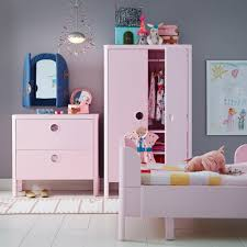 ikea teenage bedroom furniture. a kidsu0027 bedroom with busunge wardrobe chest of drawers and bed in pink ikea teenage furniture