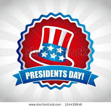 Library Closed Monday, February 16 for Presidents' Day