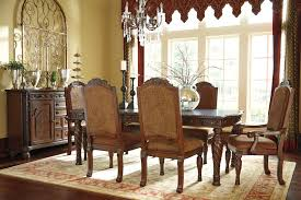 Old World Dining Room Sets Formal Dining Room Sets For 6 Bolanburg Dining Room Set W Bench
