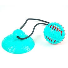 <b>Monclique</b> Suction Cup Molar Bite Interactive Leakage <b>Dog</b> Rubber ...