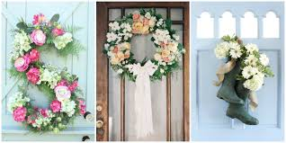 Spring Decorating 30 Spring Wreaths Easter Spring Door Decorations Ideas