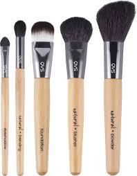 QVS <b>Профессиональный набор</b> кистей для макияжа, <b>5</b> шт. 82-10 ...