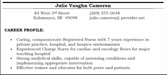 career profile screenshot what to write in career objective for a resume