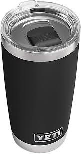 YETI Rambler 20 oz Tumbler, <b>Stainless Steel</b>, <b>Vacuum Insulated</b>