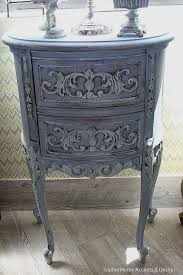 Shabby Chic Vintage <b>French Style</b> Furniture Wood <b>Side Table</b> ...