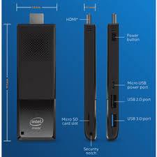 <b>Мини</b>-<b>ПК Intel Compute</b> Stick STK1AW32SC купить в Томске по ...