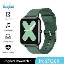 <b>Rogbid Rowatch 1 Smart</b> Watch Women Full Touch Fitness Tracker ...