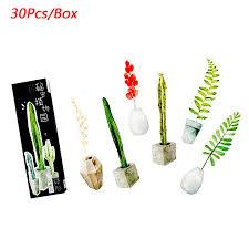 <b>30pcs</b>/lot <b>Cute</b> Potted Plants Gift Bookmarks Marker Stationery Gift ...