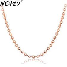 NEHZY Rose Gold Colour <b>jewelry</b> wild <b>Ms</b>. O word <b>necklace</b> cute ...
