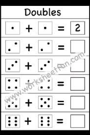 Addition Doubles / FREE Printable Worksheets – WorksheetfunAddition Doubles – 1 Worksheet