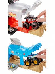 Игровой набор <b>Hot Wheels Монстр-Трак</b> Пусковой гараж в ...