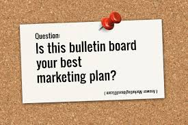 ad bulletin board cards are great bulletin board