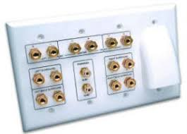 home theater wiring  step by step guide to a successful wiring    vanco   home theater wall plate