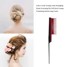Пластиковая <b>расческа</b> для волос с мелкозубами, металлическая ...