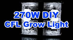 270w diy cfl grow light 52 how to build it youtube build easy diy lighting
