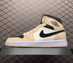 "2020 Women's Air Jordan 1 Mid ""Guava <b>Ice</b>"" BQ6472-<b>800</b>"