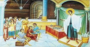 Αποτέλεσμα εικόνας για αγιοσ δημητριος μαρτυριο
