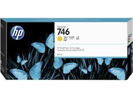 <b>HP 746</b> 300-ml Yellow <b>DesignJet</b> Ink Cartridge - HP Store Australia