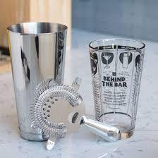 <b>3 Piece Bar</b> Cocktail Shaker Kit