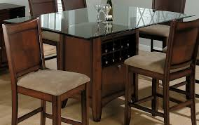 glass topped dining room tables top