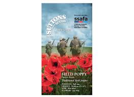 <b>Field poppy</b> seeds - <b>papaver</b> rhoeas | Eden Project Shop