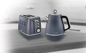 Набор <b>чайник</b> плюс тостер Morphy Richards Evoke <b>Steel</b> Blue Jug ...
