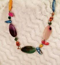 Mother of <b>Pearl Shell Statement</b> Costume Necklaces & Pendants for ...