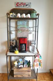 vintage inspired coffee station unique diy coffee station