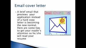 email cover letter format email cover letter format