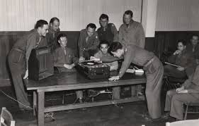 career exploration 125 stanford 125 members of stanford s army specialized training corps take a placement test in interview techniques during world war ii