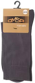 <b>Носки мужские OMSA CLASSIC</b> 203 Grigio Scuro р/р в асс., хлопок ...