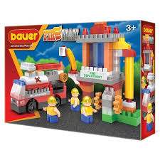 <b>Конструктор Бауер Fireman</b> набор <b>Пожарная</b> вышка 741 ...