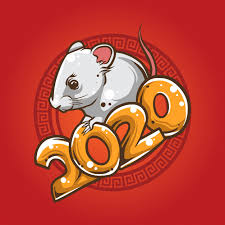 Premium Vector | <b>White mouse chinese</b> new year illustration
