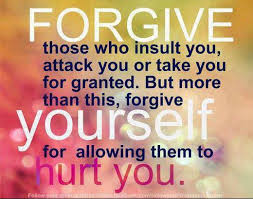 Resultado de imagen de bible verses about forgive yourself