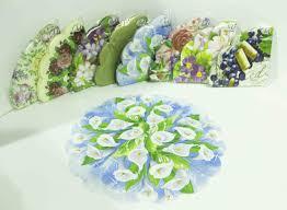 <b>Салфетки</b> Art <b>Bouquet</b> Rondo круглые 3-слойные (много расцветок)