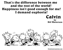 Image result for calvin and hobbes and light and love and peace