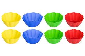 <b>Набор форм для кексов</b> Elan Gallery 8 штук 7х7х3 см 75 мл Цветок