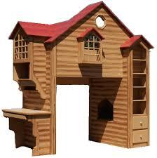 maryville cabin bunk bed with side desk bunk beds desk