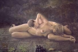 Resultado de imagen de desnudo bajo la lluvia