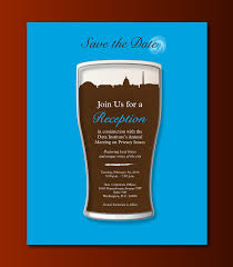 invitation to a corporate happy hour on behance