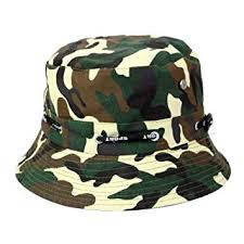 SEGRJ <b>1Pc</b> Bucket Hat Fashion Camouflage Pattern Design Sun ...